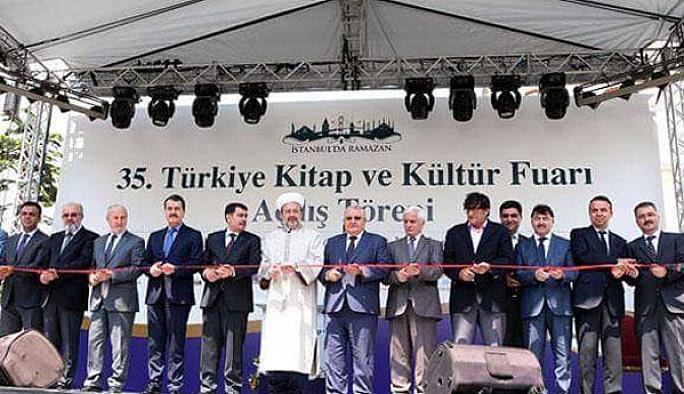 Türkiye Kitap Fuarı 35'inci kez kapılarını açtı