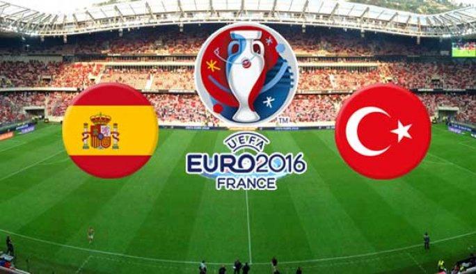İspanya-Türkiye maçından notlar