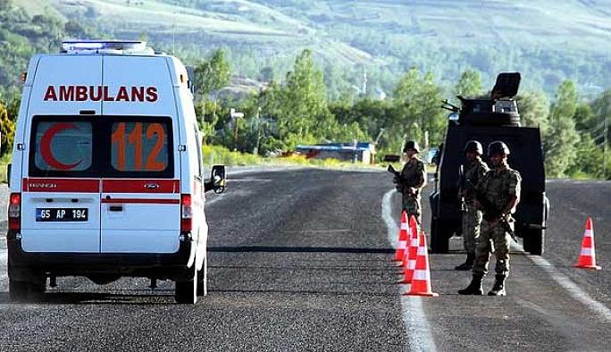 Van'da bombalı saldırı: 6 polis yaralandı
