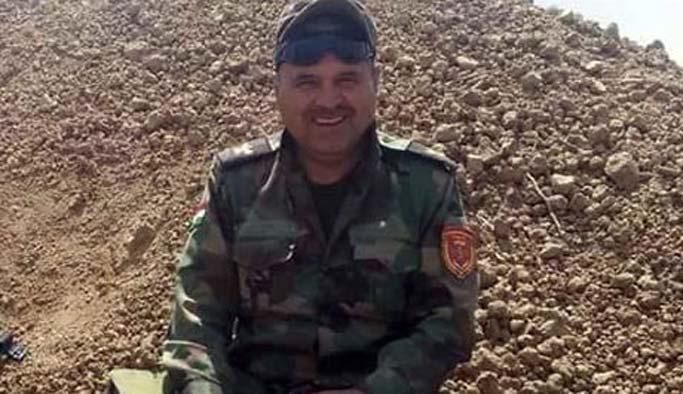 Yaralı peşmerge binbaşı Türkiye'de öldü