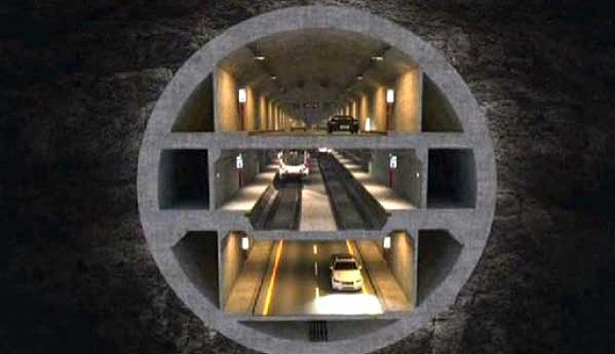 Yedi tepeli şehre 7 yeni tünele onay