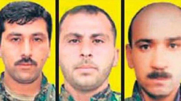 YPG'nin üst düzey 3 ismi öldürüldü