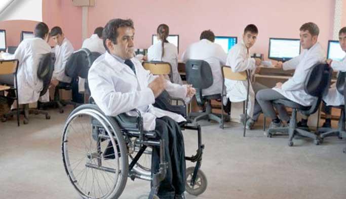 498 engelli öğretmenin ataması yapıldı