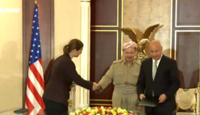 ABD'den Barzani'ye 'can simidi'