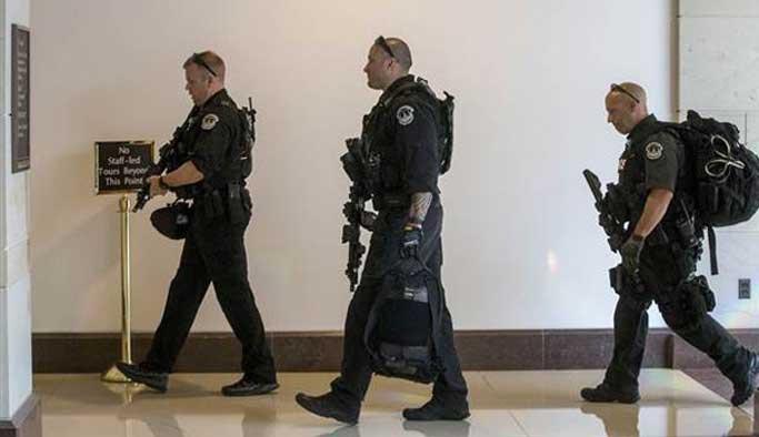 ABD kongresinde 'silahlı şahıs' alarmı