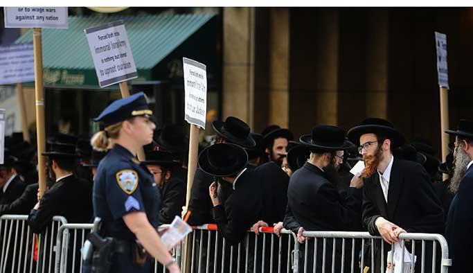 ABD'li Yahudiler İsrail'i protesto etti