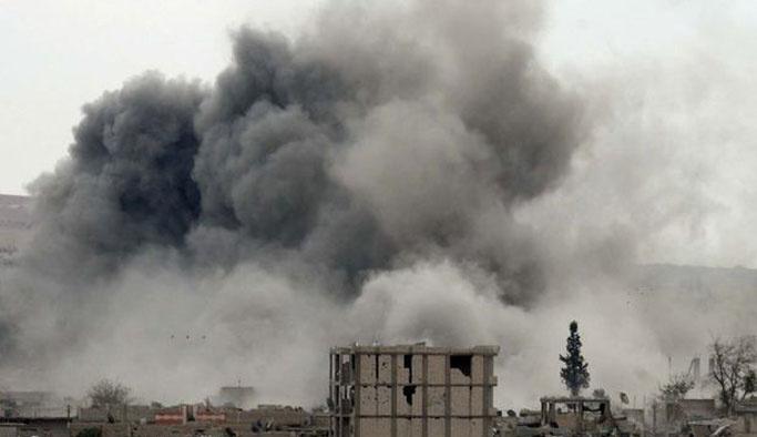 ABD uçakları yanlışlıkla YPG'yi bombaladı