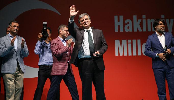 Abdullah Gül de meydanlara indi