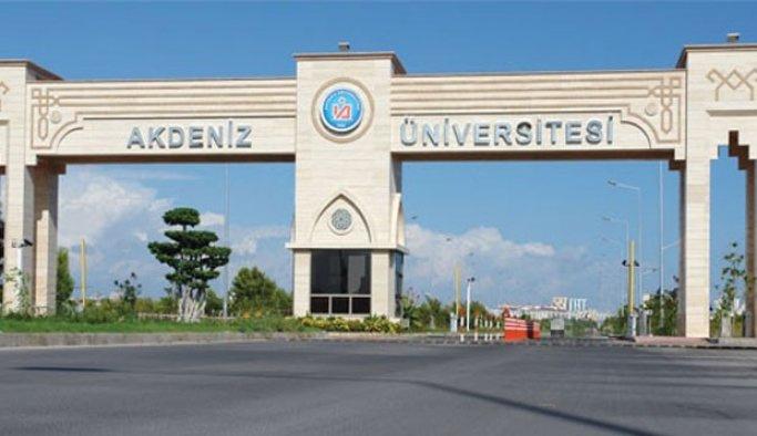 Akdeniz Üniversitesindeki FETÖ soruşturması