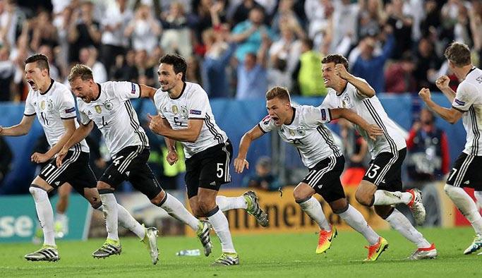 EURO 2016'da Almanya yarı finale yükseldi