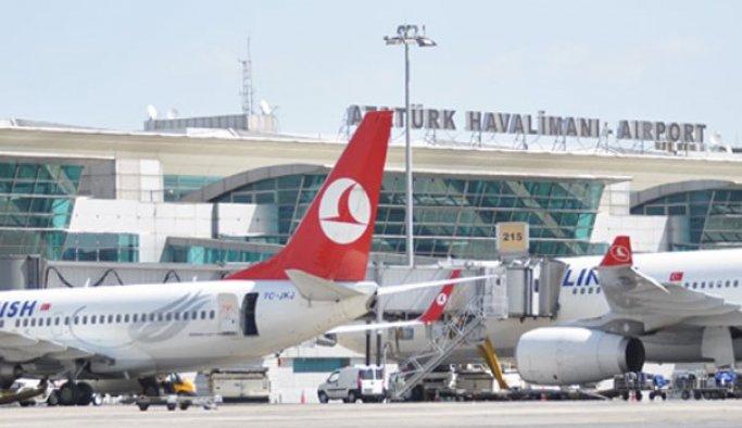 Atatürk Havalimanında asayiş uygulaması