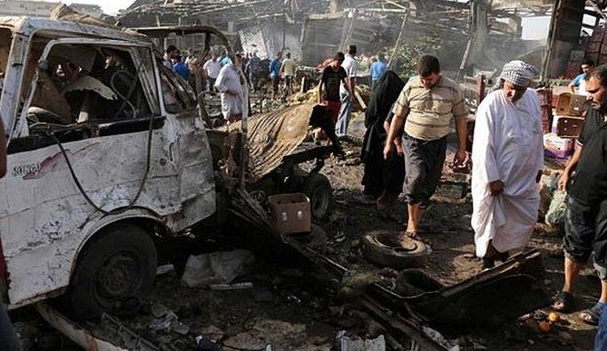 Bağdat'a yapılan saldırıda 9 kişi ödü