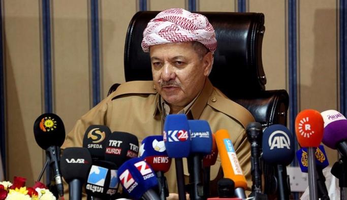 Barzani: Biz olmadan Musul'a alamazsınız