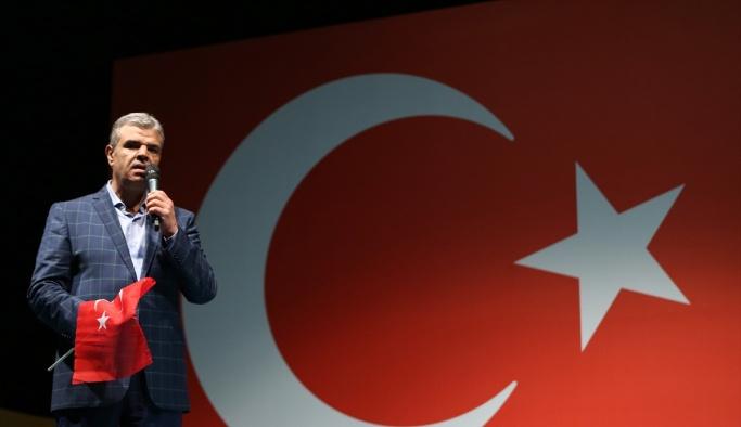 Başbakan Yardımcısı Kaynak Kısıklı'da demokrasi nöbetine katıldı
