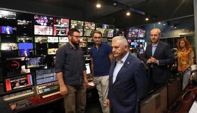 Başbakan Yıldırım'dan TRT'ye