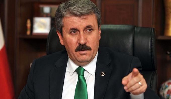 BBP Genel Başkanı Destici FETÖ hakında konuştu