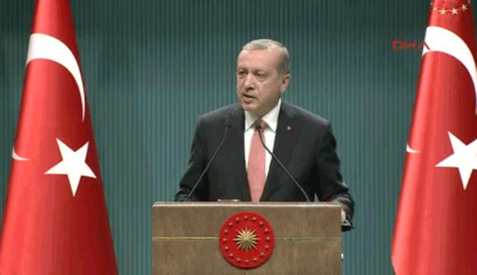 Erdoğan: Üç ay olağanüstü hal ilan edildi