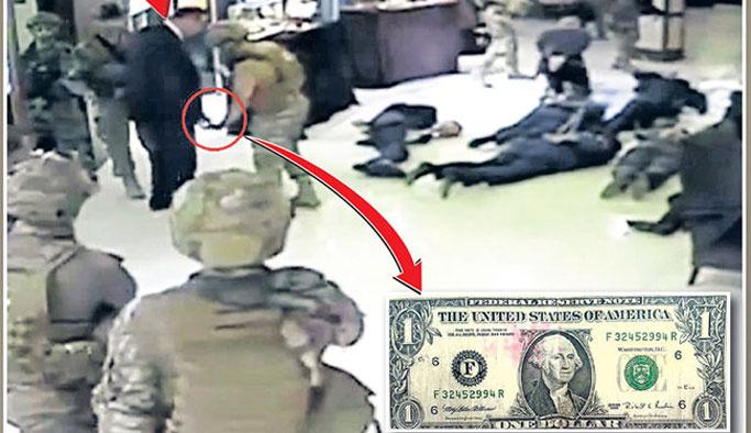 Bir dolarla kelepçeden kurtuldu VIDEO