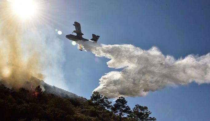 Bodrum'daki yangın kontrol altında FOTO