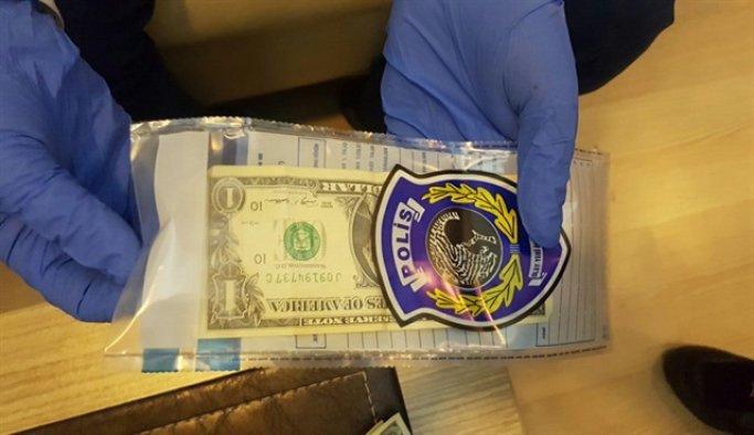 Bolu Vali Yardımcısı Özcan'ın evinde bir dolar ele geçirildi