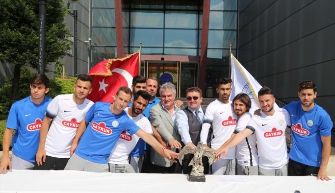 Çaykur Rizespor'da yeni transferler için tören