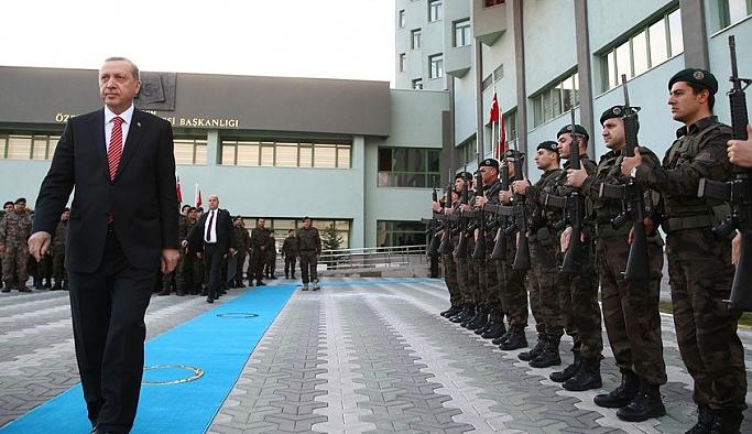 Erdoğan'dan Özel Harekat'a ziyaret