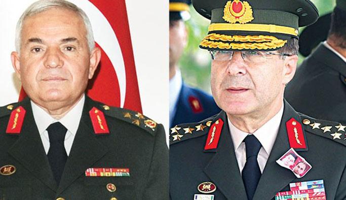 Darbe zaafiyetinin faturası iki komutana kesildi