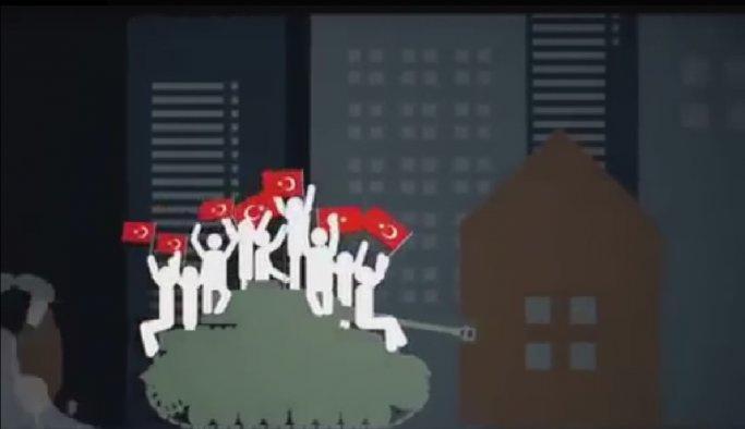 Darbeyi en iyi anlatan animasyon