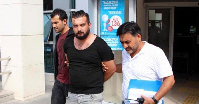 Darbeyi övdüğü için tutuklandı