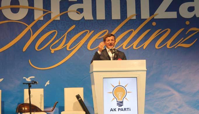 Davutoğlu Konya'da iftarda konuştu