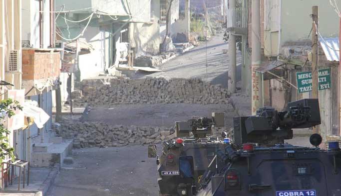 Diyarbakır Silvan'da sokağa çıkma yasağı