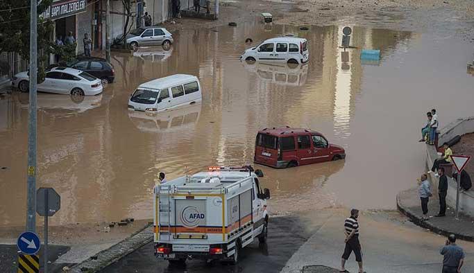 Dört şehirde sel felaketi