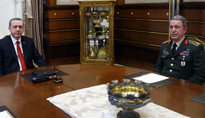 Erdoğan-Akar görüşmesi 2,5 saat sürdü
