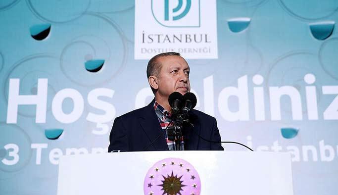 Erdoğan: DAEŞ'in tek hedefi İslam'a zarar vermektir