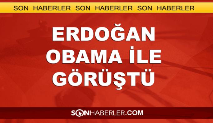 Erdoğan, Obama ile 'Gülen'in iadesini konuştu