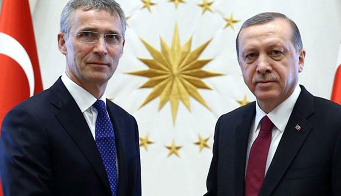 Erdoğan'dan Suriye sınırı için NATO'ya çağrı