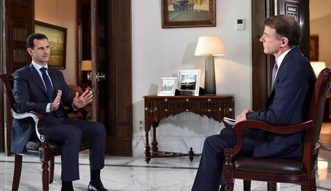 Esad: Putin gitmemle ilgili tek kelime etmedi