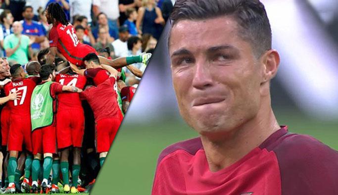 EURO 2016'nın şampiyonu Portekiz