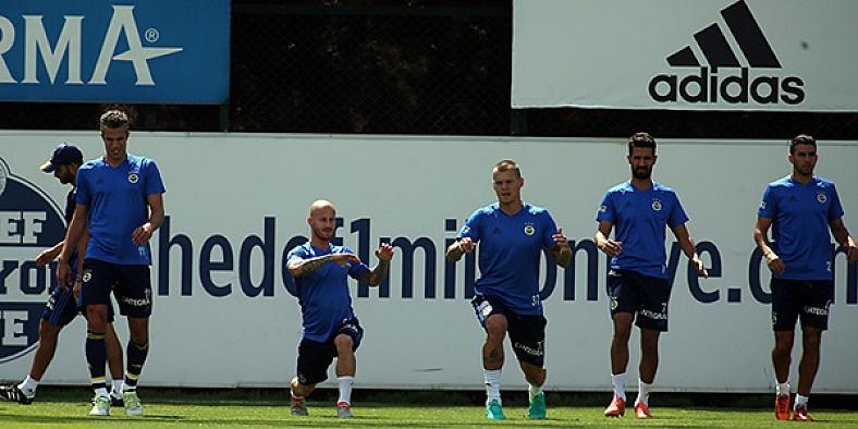 Fenerbahçe'de Monaco'ya karşı son hazırlıklar