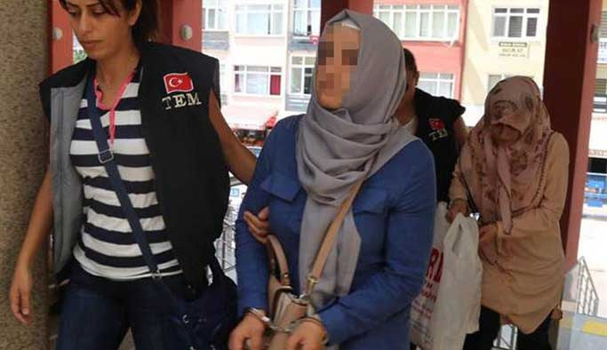FETÖ evlerini boşaltan 'ablalara' gözaltında