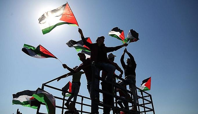 Filistin'de AA habercisine gözaltı