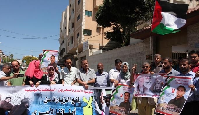 Filistinlilerin İsrail hapishanelerindeki yakınlarına kısıtlama
