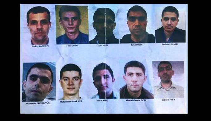 Firari suikastçilerin fotoğrafları yayınlandı