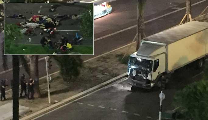 Fransa'da 'kamyonlu' saldırı: En az 84 ölü