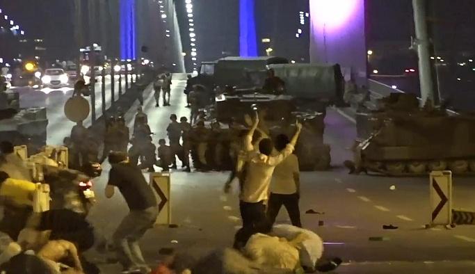FSM Köprüsü'nde askerin 'ateş açma' görüntüleri ortaya çıktı