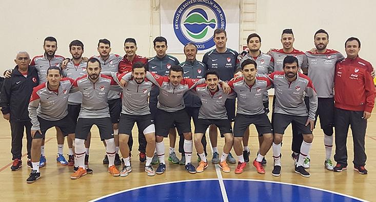 Futsal Milli Takımı'nın hazırlık kampının kadrosu belli oldu