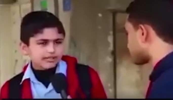 Gazzeli çocuklardan 'insanlık' dersi
