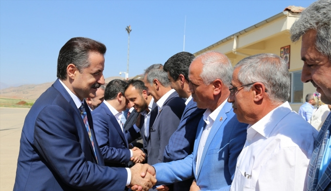 Gıda Tarım ve Hayvancılık Bakanı Çelik Siirt'te