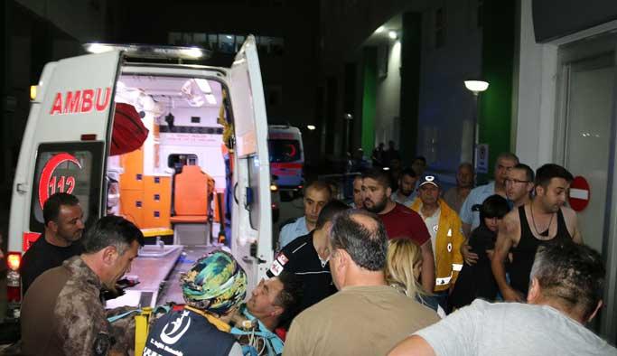 Giresun'da polise saldırı ve patlama