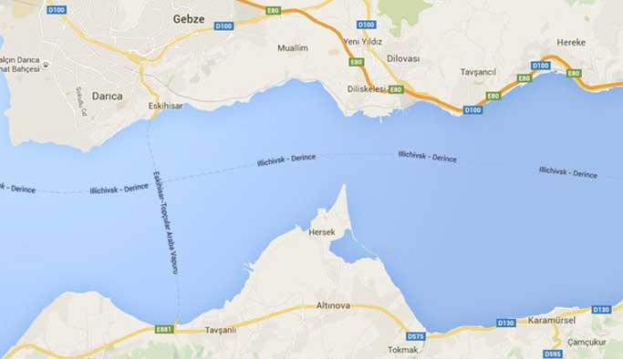 Google henüz Osmangazi'yi bulamadı